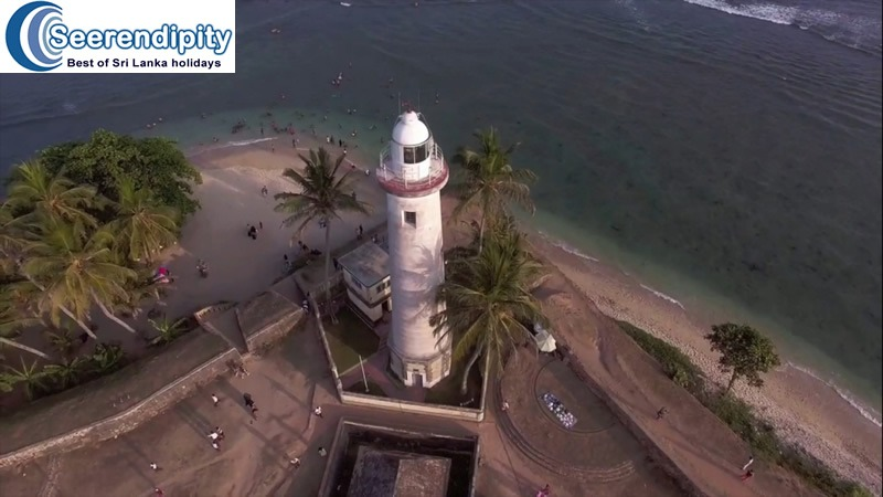 lighthouse galle Construction that saved million of ships