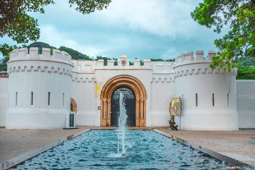 Holidaying in Sri Lanka Prison Cell