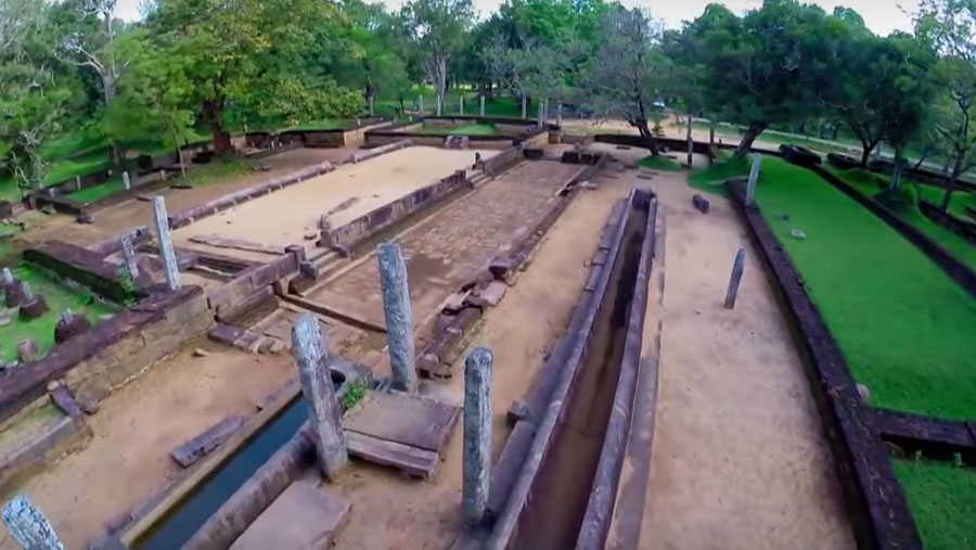Ruins of a 2000 years old hospital