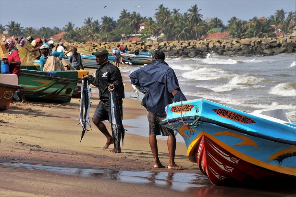 Fishing in southern sri lanka