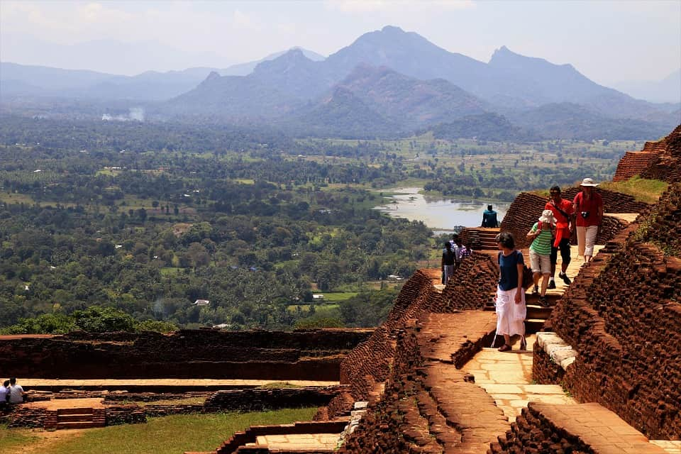 sigiriya fortress summit, tour packages from sri Lanka