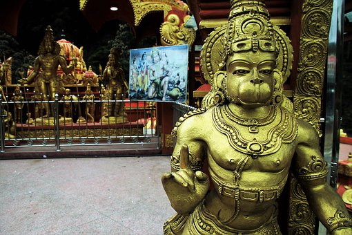 Hanuman bridge and Ramayana