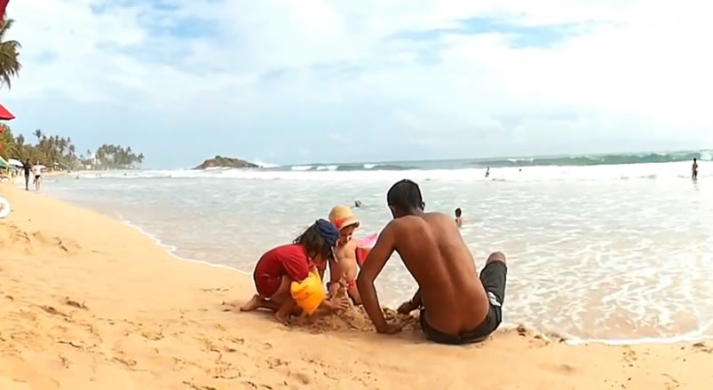 family fun in Sri Lanka