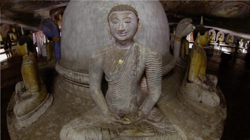 rock cave temple Dambulla, Sri Lanka itinerary 5 days